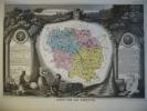-Levasseur-1866-Carte Géographique Du Département De La Creuse- - Geographical Maps