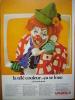PUB-PUBLICITE- Locatel - Clown - 1970 - - Publicités