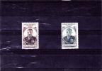 AEF : Félix Eboué  :Y&T : ** :206-207  Légère Charnière - A.E.F. (1936-1958)