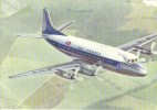 """CPSM - AIR FRANCE - VICKERS """"VISCOUNT"""" -"""