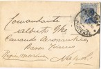 Carta SIRACUSA (Partenze) 1925. Comando Aeronautica - 1900-44 Vittorio Emanuele III