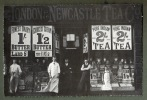 Carte Postale Photo DEVANTURE MAGASIN LONDON NEWCASTLE TEA - Collection Nostalgia - Magasins