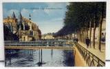 Cpa  29 Quimper Animée - Les Passerelles Sur L'Odet , Avec Une Partie De La Ville - - Quimper