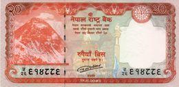 Nepal 20 Rupees 2016 P-New UNC Everest - Népal
