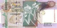 SEYCHELLES   50 Rupees  Non Daté (1998)  Pick 38     ***** BILLET  NEUF ***** - Seychelles