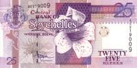SEYCHELLES   25 Rupees  Non Daté (1998)  Pick 37     ***** BILLET  NEUF ***** - Seychelles