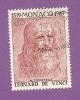 MONACO TIMBRE N° 800 OBLITERE SERIE LEONARD DE VINCI - Monaco
