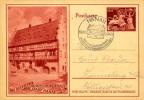 HANAU GOLDSCHMIEDEHAUS 1942 DEUTSCHES REICH MICHEL P293 - Briefe U. Dokumente