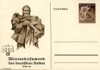 WINTERHILFSWERK 1938 JAN DEUTSCHES REICH MICHEL P 274/4 - Briefe U. Dokumente