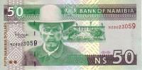 NAMIBIE   50 Dollars   Non Daté (2003)   Pick 8a  Signature 3    ***** BILLET  NEUF ***** - Namibie