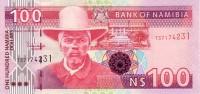 NAMIBIE  100 Dollars  Non Daté (2003)   Pick 9A  Signature 3     ***** BILLET  NEUF ***** - Namibie