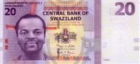 SWAZILAND   20 Emalangeni   Daté Du 06-09-2010    ***** BILLET  NEUF ***** - Swaziland