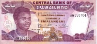 SWAZILAND   20 Emalangeni   Daté Du 01-04-2006   Pick 30c    ***** BILLET  NEUF ***** - Swaziland