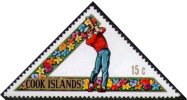 COOK ISLANDS 1969 - 3rd SOUTH PACIPIC SPORTS GAMES - GOLF - Yv. 212 - MINT - Golf
