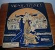 Viens Titine ! Polka Populaire - Paroles De Lucien Meilinger - 1913. - Partitions Musicales Anciennes