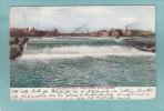 ST. ANTHONY FALLS . FROM STONE ARCH BRIDGE  -  1908  - - Minneapolis