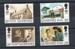 GUERNESEY N°485/488 ** - EUROPA (bâtiments Postaux) - Europa-CEPT