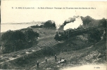 CPA 85 LA BAULE L'EXPRESS Au Bois D´amour Dans Les Dunes De MAZY Train - Eisenbahnen