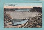 EL  PASO.  -  Dam At Elephant Butte , On Rio  Grande.  -  1920  -  BELLE CARTE  - - El Paso