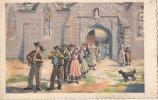 -Au Pays Breton Noce Bretonne - écrite 1945 Illustrateur TB  (petites Salissures Dos) - Bretagne
