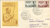 Ref. 257670 * USED *  - SPANISH GUINEA . 1952. NATIVES WELFARE. PRO INDIGENAS - Ifni