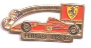 VP164 Pin´s Superbe Pin´s  Formule Un Ferrari Alesi Berger - F1