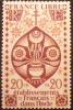 1942 Inde Française Série De Londres 20 Ca Neuf * YT 223 Côte Dallay 0,80 € - Zonder Classificatie