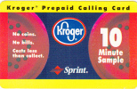 USA - Kroger, Sprint Promotion Prepaid Card, Exp.date 30/11/97, Used - United States