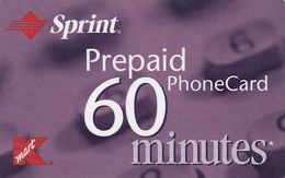 USA - K Mart, Sprint Magnetic Prepaid Card, Used - United States