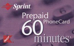 USA - K Mart, Sprint Magnetic Prepaid Card, Used