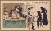Chromo SUCHARD, N° 40 / 1, Thèmes: Mère Et Enfants, Cuisine - Suchard