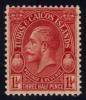 Turks & Caicos #62 King George V, Unused (0.95) - Turks And Caicos