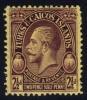 Turks & Caicos #64 King George V, Unused (0.95) - Turks And Caicos