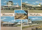 ALLEMAGNE,germany,deutschland,HANNOVER,HANOVER,HANOVRE,Aéroport,flughafen,avion De Ligne,aviation,décollage,atterrissage - Hannover