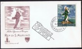1966  Our Lady Of Europe  Unaddressed FDC - FDC