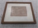 Prise D Arme Carte De Circulation Satory Photographe 1914 - Documents