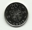 1995 - Ghana 20 Cedis, - Ghana