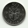 1999 - Ghana 50 Cedis, - Ghana