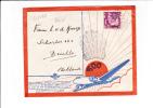 26/480    500° VLUCHT  INDIE  - HOLLAND    1937 - Niederländisch-Indien