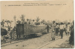 Grand Bassam No 4 Embarquement D Une Bille D Acajou Sur Le Vapeur Colonia Gros Plan L.S. - Ivoorkust