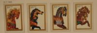 USA UNITED STATES 1995 MCHL 2608-11 HORSES  MNH ** POSTFRIS NEUF - Stati Uniti
