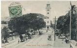 Colombo Ceylan  Queen  Street  Maximum King Stamp 1909 Edit Platé No 303 - Sri Lanka (Ceylon)