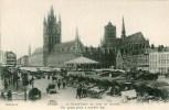 BELGIQUE Ypres La Grand'Place Un Jour De Marché - Non Classés