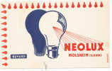 BU 786 / BUVARD  LAMPE NEOLUX - Electricité & Gaz