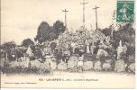 -- 44-- LOUISFERT  -- LE CALVAIRE MEGALITHIQUE -- ANIMEE -- - France