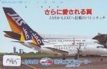 Télécarte Japon * AVION (1465) JAC * AIRLINES * AIRPORT * AIRPLANE *  PHONECARD * JAPAN * FLUGZEUG - Avions