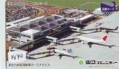 Télécarte Japon * AVION (1470) JAL * AIRLINES * AIRPORT * AIRPLANE *  PHONECARD * FLUGZEUG - Vliegtuigen