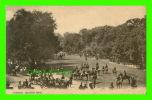 HYDE PARK, LONDON - ROTTEN ROW - TRAVEL IN 1907 - LONDON STEREOSCOPE CO - LESCO SERIES - - London
