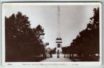 Liverpool - Sefton Park, Samuel Smith Memorial  - Real Photo Postcard - Liverpool