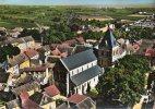 51-Marne- VERTUS ´EN AVION Au Dessus De .......Eglise St Martin - Vertus